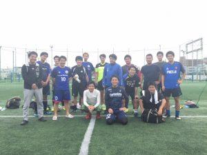 サッカー部集合写真 2018.10